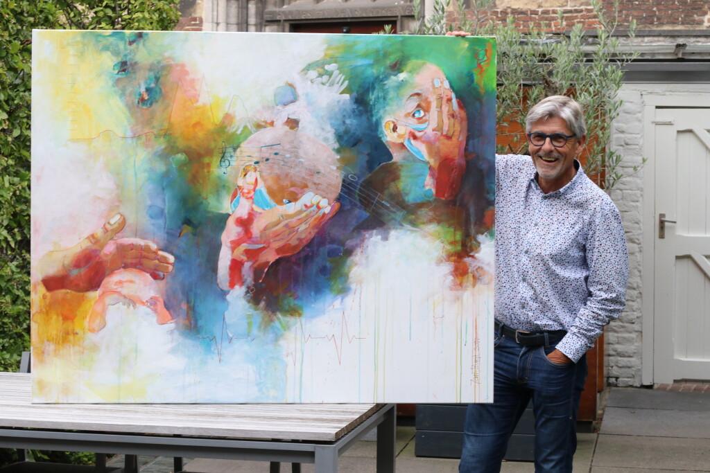 Jan met het schilderij